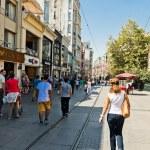 People on Istiklal Street — Stock Photo #56803751
