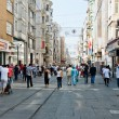People on Istiklal Street — Stock Photo #56803849