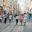 People on Istiklal Street — Stock Photo #56803943