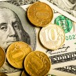 ������, ������: Russian rubles and U S dollars