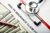 Healthcare cost concept — Stock Photo