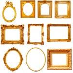 Golden frames — Stock Photo #58440921