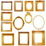 Golden frames — Stock Photo #58441145