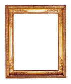 Antique golden frame — Stock Photo