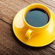 Cup of coffee on table — Stock Photo #59288765