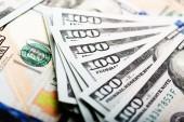 American hundred dollar bills — Stock fotografie