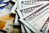 American dollar bills — Stock Photo