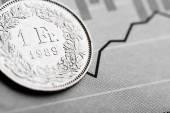 Taux du Franc Suisse — Photo