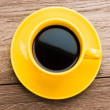 Cup of coffee on table — Stock Photo #64055973