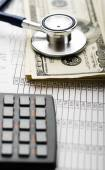 Health care costs or medical insurance — Stock Photo