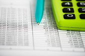 Financial accounting concept — Stock Photo