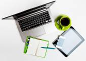 Office  business working desk — Stock Photo