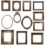 Antique wooden frames — Stock Photo #72044423