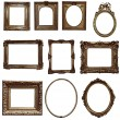 Antique wooden frames — Stock Photo #72043959