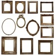Antique wooden frames — Stock Photo #72044423