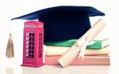 Education in Great Britain Concept — Stock Photo
