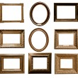 Antique wooden frames — Stock Photo #72652969
