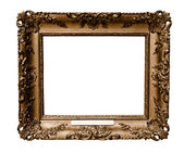 Antique wooden frame — Stock Photo