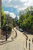 View on Rue de l'Abreuvoir — Stock Photo