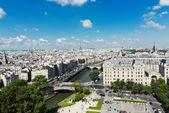 Paris form Notre Dame — Stock Photo