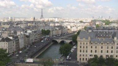 Eiffel Tower Paris France — Stock Video