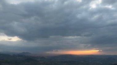Beautiful Italian landscape — Stock Video