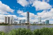 Yekaterinburg City embankment — Stock Photo