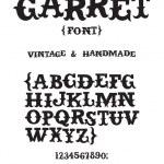 Vintage western font — Stock Vector #68262937