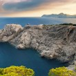 Beautiful rocky coast in Mallorca — Stock Photo #63197319