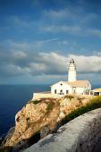 Lighthouse Capdepera in Mallorca — Stock Photo