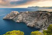 Beautiful rocky coast in Mallorca — Stock Photo