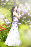 Frühling nymphe — Stockfoto
