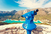Viewpoint in Guadalest, Spain — Stock Photo