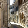 Narrow street of the old town in Herceg Novi, Montenegro — Stock Photo #56566943