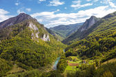 Tara River Canyon, Montenegro — Stock Photo