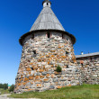 Tower of the Solovetsky Monastery, Russia — Stock Photo #65303385