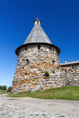 Tower of the Solovetsky Monastery, Russia — Stock Photo