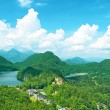 Landscape with castle of Hohenschwangau in Germany — Stock Photo #53519697