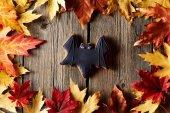 Halloween hembakade pepparkakor cookie — Stockfoto