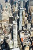 Cityscape view of Manhattan from Empire State Building — Stock Photo