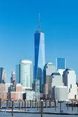 Horizonte de manhattan de nova york — Foto Stock