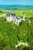 O castelo de neuschwanstein na alemanha — Foto Stock