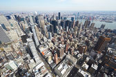 Manhattan from Empire State Building — Stock Photo