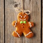 Christmas   man cookie — Stock Photo #57436247