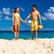 Couple on beach — Stock Photo #58419539