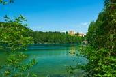 Alpsee lake at Hohenschwangau — Stock Photo