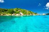 Beautiful landscape at Seychelles — Stock Photo