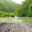 Tropical River in rainforest — Stock Photo #73533301