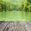 Tropical River in rainforest — Stock Photo #74499777
