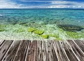 Beautiful beach, Philippines — Stock Photo